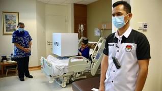 Ani Yudhoyono Nyoblos di Rumah Sakit, SBY di KBRI Singapura