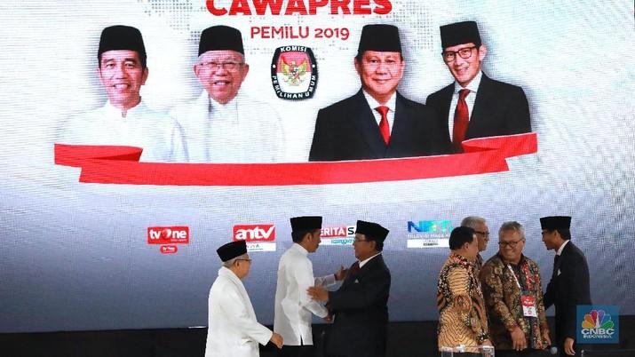 Komisi Pemilihan Umum (KPU) telah menuntaskan rekapitulasi suara tingkat nasional untuk 14 provinsi.