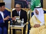 Putra Mahkota Saudi: RI Beruntung Punya Jokowi