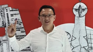 Pleno KPU Ungkap Takbir Menggema Saat Ahok Ngamuk di Osaka