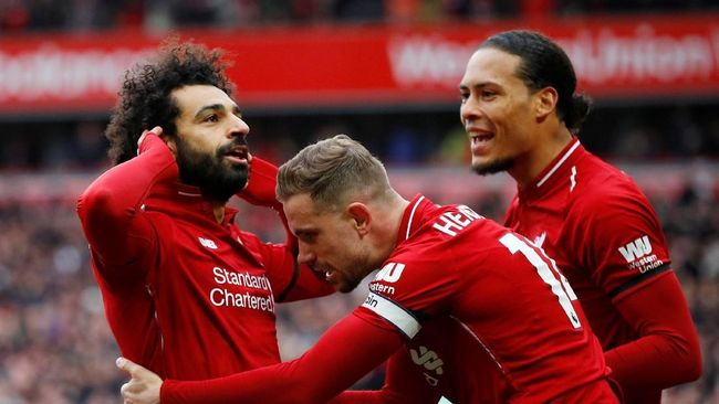 Hasil Liga Inggris: Liverpool Kalahkan Chelsea 2-0