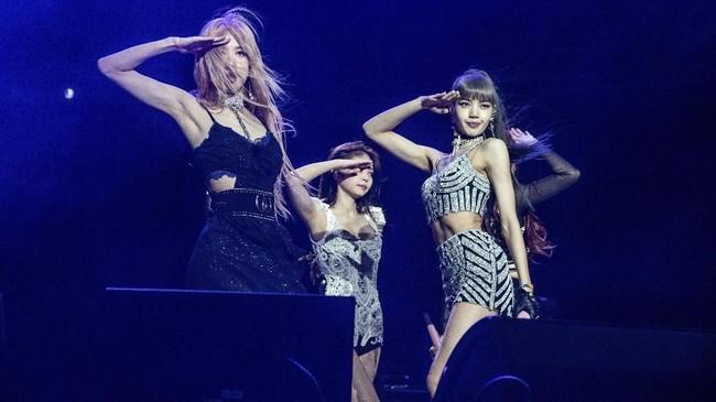 Penampilan BLACKPINK ini menjadi aksi pertama grup musik K-Pop di festival musik terbesar dunia tersebut. (Amy Harris/Invision/AP)