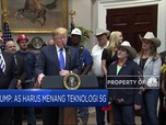 Trump: AS Harus Menang Teknologi 5G
