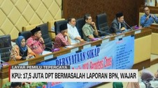 VIDEO: KPU: 17,5 Juta DPT Bermasalah Laporan BPN, Wajar