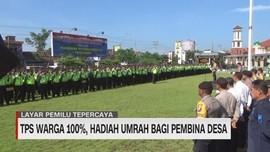 VIDEO: TPS Warga 100 Persen, Hadiah Umrah Bagi Pembina Desa