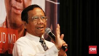 Mahfud MD Soal Natuna: Tak Ada Lagi Konflik Indonesia-China