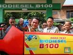 Nyata, Mentan Uji Coba B100 Langsung di 50 Traktor & Mobil