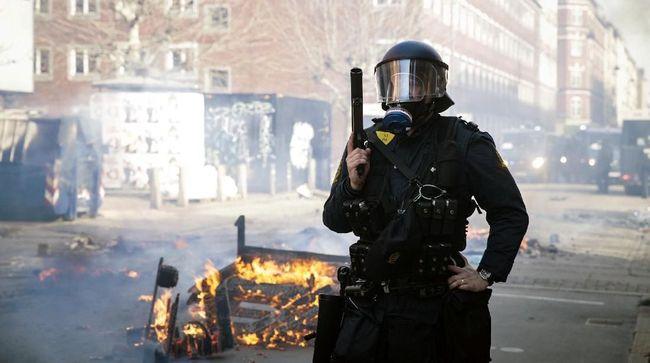Bentrok Demonstrasi Anti-Imigran di Denmark, 23 Orang Ditahan