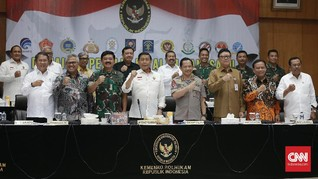 Pemilu 2019 Belum Ada Hasil, Wiranto Minta Semua Tahan Diri