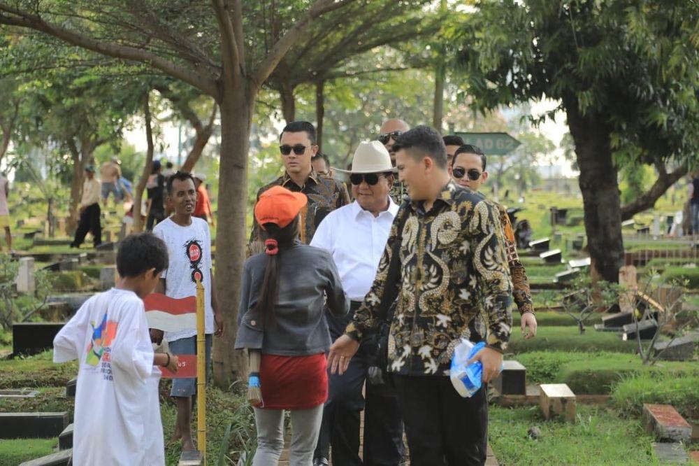 Calon Presiden dan Calon Wakil Presiden nomor urut 02, Prabowo Subianto dan Sandiaga Salahuddin Uno memiliki aktivitas tersendiri dalam mengisi kegiatannya di masa tenang Pemilu 2019 ini. (Dok. BPN Prabowo-Sandi)