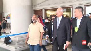 VIDEO: Najib Razak Bungkam Usai Sidang Kedua Kasus 1MDB