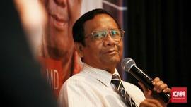 Klarifikasi Tudingan Kecurangan Pemilu, Mahfud MD Cek IT KPU