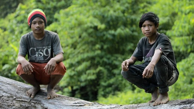 Beberapa kelompok suku Polahi masih hidup dalam keterasingan dan merasa negara ini masih berada seperti keadaan penjajahan kolonial. (ANTARA FOTO/Adiwinata Solihin)