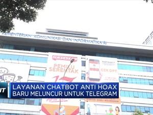 Kemenkominfo Luncurkan Chatbot Anti Hoaks