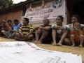 FOTO: Polahi, Suku Pedalaman yang Baru Kenal Pemilu