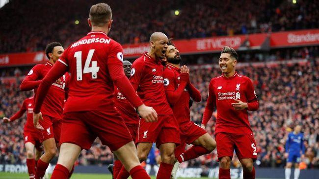 Klasemen Liga Inggris: Liverpool Jaga Jarak dengan Man City