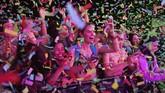 Coachella belum berakhir. Pekan kedua festival ini akan dimulai pada 19-21 April mendatang dan menampilkan musisi yang sama. (Amy Harris/Invision/AP)