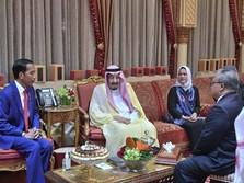Simak, Poin-poin Pertemuan Jokowi dan Raja Salman di Arab