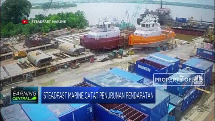 Steadfast Marine Catat Penurunan Pendapatan (CNBC Indonesia TV)