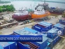 Steadfast Marine Catat Penurunan Pendapatan