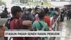 VIDEO: Stasiun Pasar Senen Ramai Pemudik
