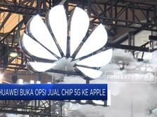 Huawei Buka Opsi Jual Cip 5G ke Apple