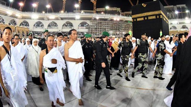 FPI Klaim Jokowi Mau Temui Rizieq di Mekkah, TKN Sebut Hoaks