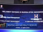 Menteng Heritage Realty Resmi Melantai di Bursa Efek
