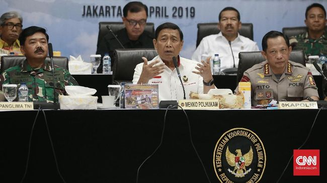 Polri dan TNI Akan Tindak Aksi Inkonstitusional Usai Pemilu