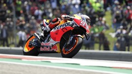 Marc Marquez Ungkap Kronologi Terjatuh di MotoGP Amerika