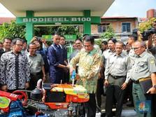 Uji Coba di 50 Traktor & Mobil, Begini Wujud Biodiesel B100