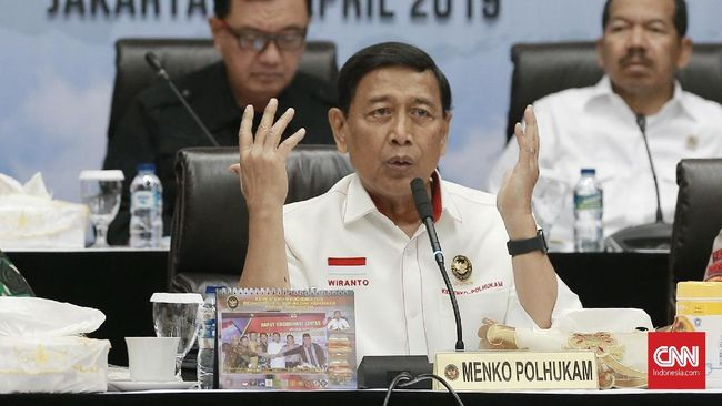 Wiranto soal Aksi 22 Mei: Itu Kejahatan Serius