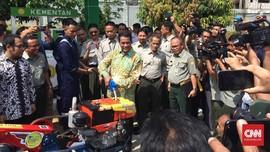 Kementan Uji Coba Biodiesel 100 Persen pada Traktor