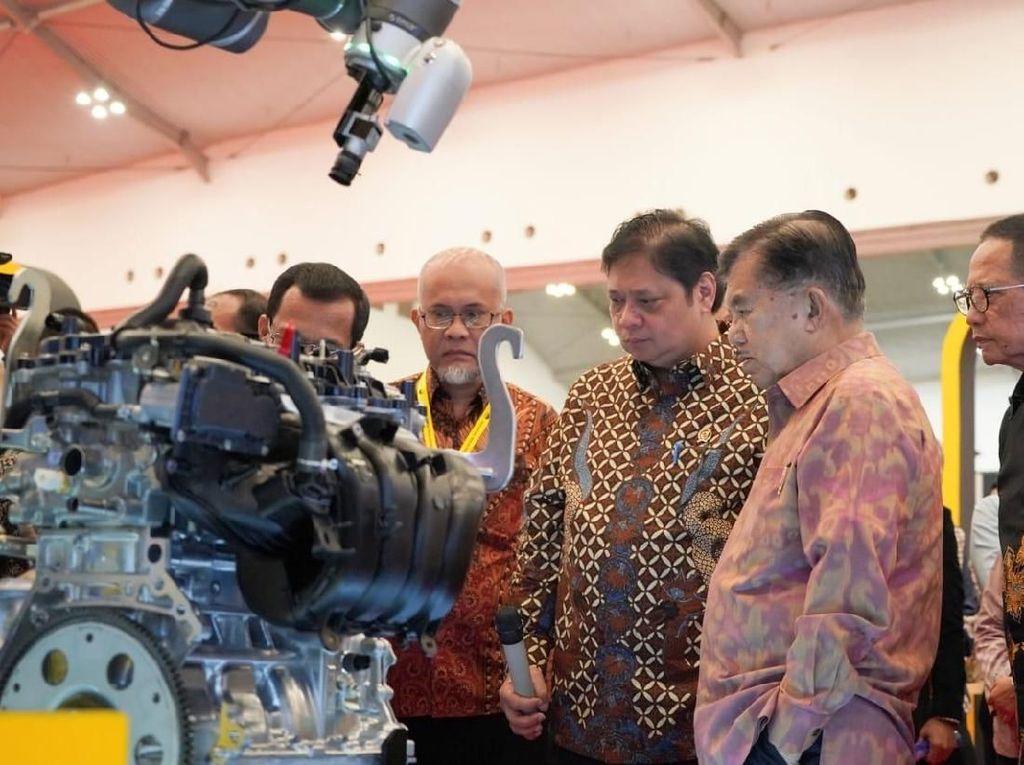 Dia pun menepis anggapan bahwa Indonesia berada dalam deindustrialisasi. Istimewa/Jeri Wongiyanto/Setwapres.