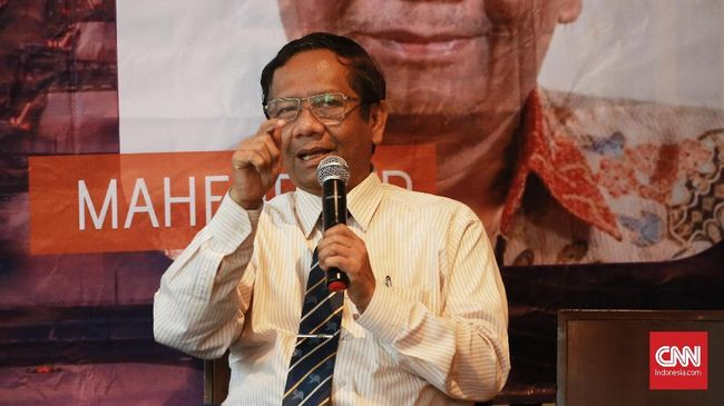 Mahfud: Indonesia Tak Akan Negosiasi dengan China soal Natuna
