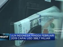 Utang Luar Negeri RI Hingga Februari 2019 Capai USD 388,7 M