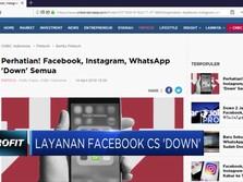 Momen Tumbangnya Layanan Facebook Cs