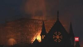 VIDEO: Katedral Notre Dame Paris Rusak Berat Karena Kebakaran