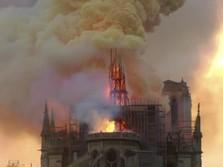 Ini Sejarah Katedral Notre-Dame di Paris yang Dilalap Api
