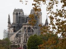 Renovasi Notre Dame, Raksasa Migas Total Sumbang Rp 1,2 T