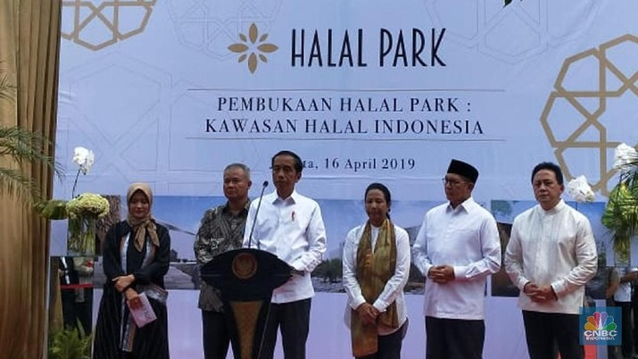 Di Balik Proyek Halal Park, Ini Rencana Akbar Jokowi