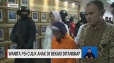 VIDEO: Wanita Penculik Anak di Bekasi Ditangkap