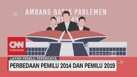 VIDEO: Perbedaan Pemilu 2014 & Pemilu 2019