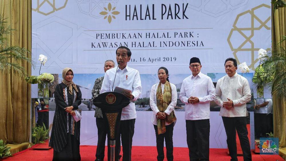 Kehadiran Halal Park diharapkan bisa memacu pertumbuhan ekonomi Indonesia.