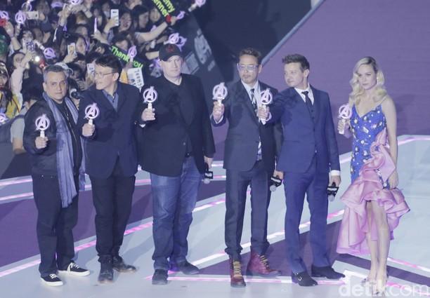Intip Keseruan Fans Korea Kedatangan Avengers