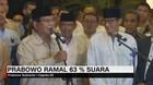 VIDEO: Prabowo Ramal 63 % Suara di Pilpres 2019