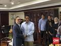 Sandi dan Zulkifli Hasan Gelar Pertemuan Tertutup di DPR