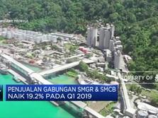 Penjualan Gabungan SMGR & SMCB Naik 19,24% pada Q1-2019