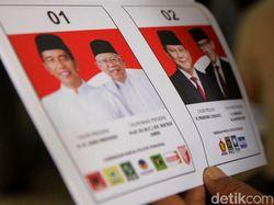 Situng KPU 89%: Jokowi-Ma'ruf Unggul 15,7 Juta Suara dari Prabowo-Sandi