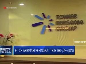 Fitch Afirmasi Peringkat TBIG 'BB-'/A+ (IDN)
